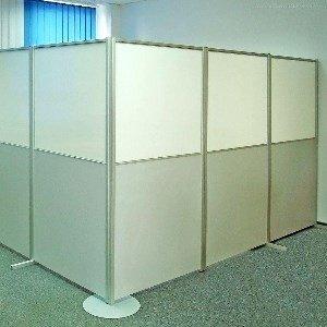 Виды и назначение офисных ширм-перегородок