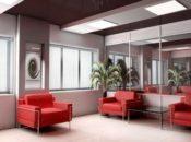 стеклянные двери для офисов и общественных помещений