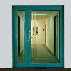 противопожарная стеклянная дверь